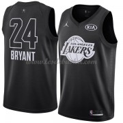 Maillot NBA Pas Cher Los Angeles Lakers Kobe Bryant 24# Black 2018 All Star Game Swingman..